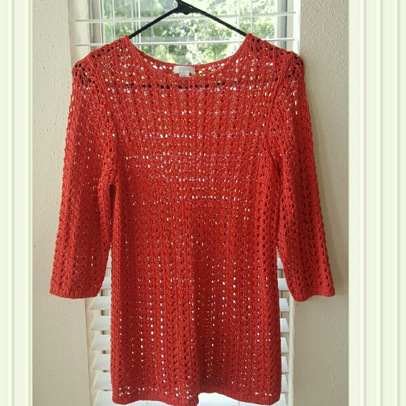 Chicos Sweaters - Chicos Women's Knit NWOT  Sweater Size 1